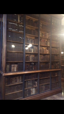 Salle des livres de John Rylands Library.